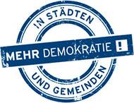 Mehr Demokratie in Städten und Gemeinden